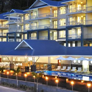 ON THE MARKET: Peppers Airlie Beach is being for recievership sale by CBRE Hotels and PRD Nationwide Airlie Beach. Photo contributed.